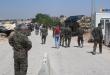 لاجئون عراقيون يصلون منبج هاربين من مخيمات إدلب.
