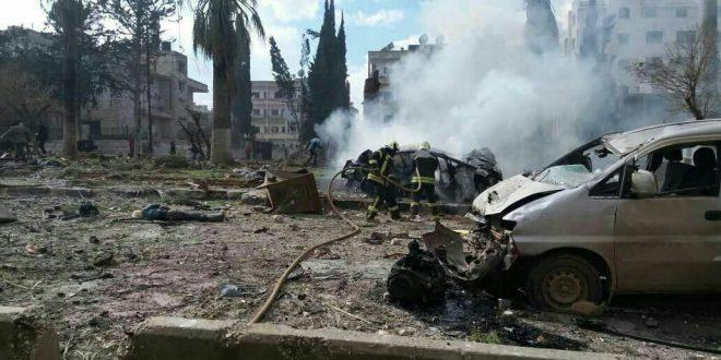 مقتل 15 شخصاً وجرح ثلاثين اخرون في تفجيرين منفصلين بأدلب