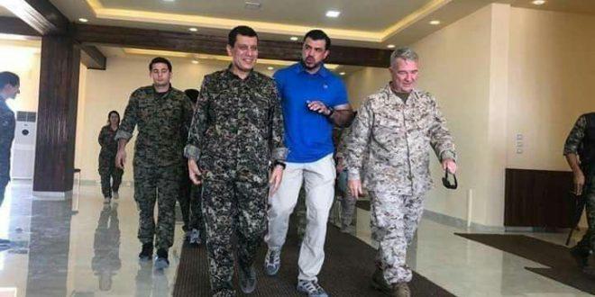 مظلوم عبدي: ناقشنا مع ماكنزي المشاكل على الحدود مع الدولة التركية