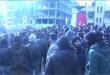 مظاهرة ضد الانتهاكات المتواصلة للاحتلال التركي والفصائل المرتزقة في عفرين