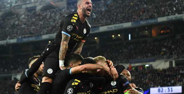 مانشسترستي الانكليزي يتغلب على ريال مدريد الإسباني
