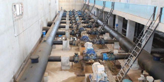 الاحتلال التركي..إيقاف ضخ المياه من محطة علوك