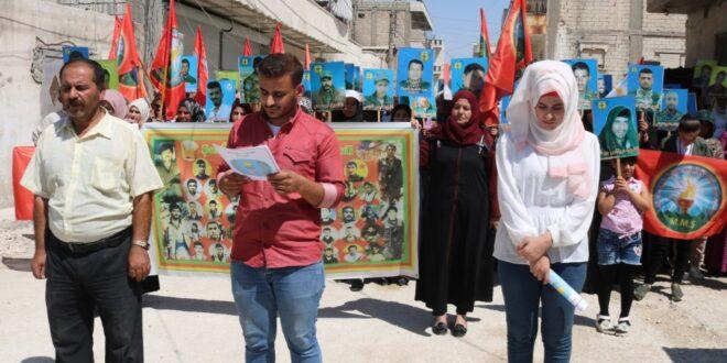 لجنة وافدين مقاطعة الشهباء تصدر بياناً استنكاراً لمجزرة تل عرن وتل حاصل